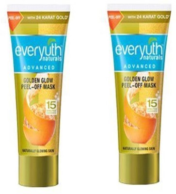 EVERYUTH NATURALS GOLDEN GLOW PEEL-OFF MASK 90 GM(180 g)
