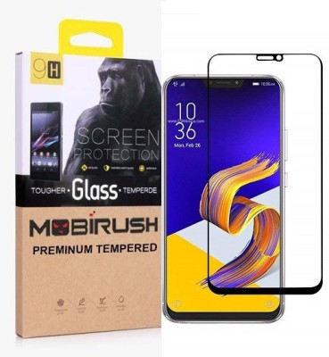 MOBIRUSH Edge To Edge Tempered Glass for Asus Zenfone 5Z(Pack of 1)