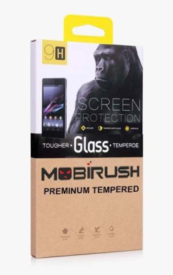 MOBIRUSH Tempered Glass Guard for Nokia 6.1 Plus(Pack of 1)