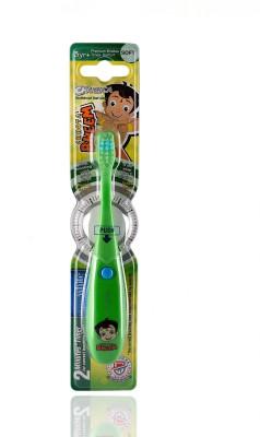 aquawhite Chhota Bheem Kids Musical Green (Waterproof,Inbuilt Battery, Plays Tune of Chhota Bheem Song),Health & Personal Care Ultra Soft Toothbrush
