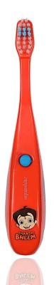 aquawhite Chhota Bheem Kids Musical Red (Waterproof,Inbuilt Battery, Plays Tune of Chhota Bheem Song),Health & Personal Care Ultra Soft Toothbrush
