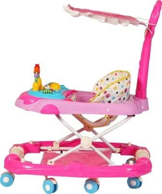 Sunbaby Musical Walker & Rocker With Parent Rod(Pink)