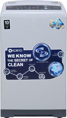 Koryo 6.2 kg Fully Automatic Top Load Washing Machine Grey(KWM6518TL) (Koryo)  Buy Online