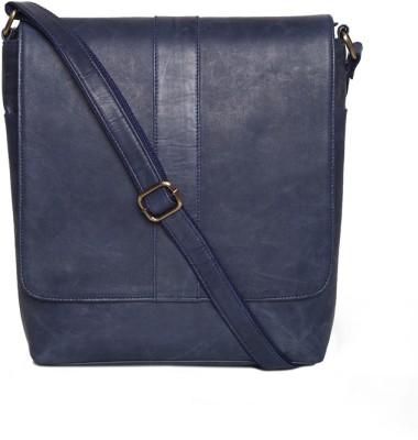 6b676a0675fd 36% OFF on SVAZ Pure Leather Cross Shoulder  Sling Bags Messenger Bag(Blue