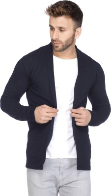 Tinted Full Sleeve Solid Men Jacket
