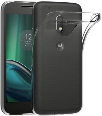 Voicair Back Cover for Motorola Moto G4 Play(Transparent, Flexible Case)