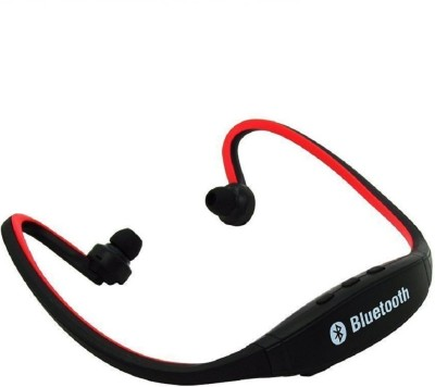Reyanshmob 100% Original BS 19C Sport Bluetooth Bluetooth Headset with Mic(Red with Black, In the Ear)