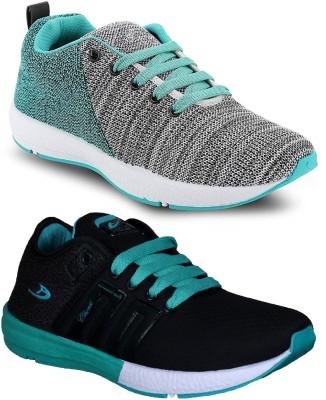 Chevit Combo Pack of 2 Sports Shoes Walking Shoes For Men(Multicolor)