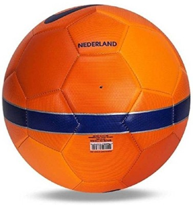 Nice NETHERLAND ORANGE Football   Size: 5 Pack of 1, Multicolor