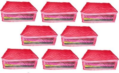 atorakushon Satin Saree Cover 8PC SSC8 Pink atorakushon Garment Covers