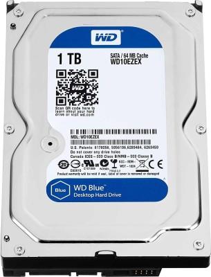 Western Digital SATA 1 TB Desktop Internal Hard Disk Drive (WD10EZEX)