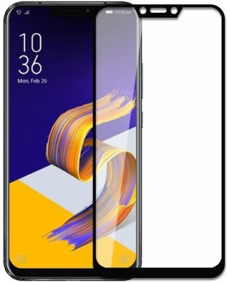 9H Edge To Edge Tempered Glass for Asus Zenfone 5Z (5D Tempered glass)(Full Glue Glass)(Pack of 1)