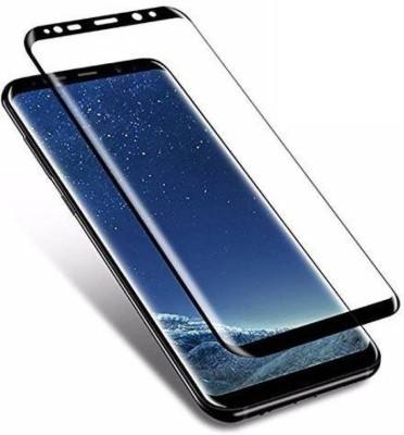 Onvay Edge To Edge Tempered Glass for Samsung Galaxy S9 (Black) | 5d Curved Full Covered Tempered Glass For Samsung S 9(Pack of 1)