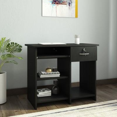 Crystal Furnitech Alanta Engineered Wood Computer Desk(Straight, Finish Color - Wenge)