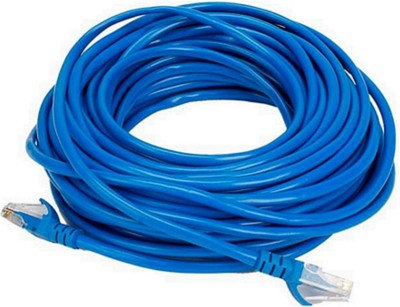 PAC cord cable 15 meter cat 6 15 m LAN Cable Compatible with internal, Blue PAC Cables