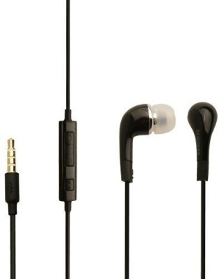 Samsung EHS64AVFBECINU Wired Headset(Black, Wired in the ear)