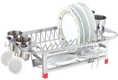 Amol 5 in 1 Stainless Steel Kitchen Rack(Steel)