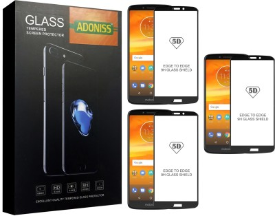 Adoniss Tempered Glass Guard for Motorola Moto E5 Plus(Pack of 3)