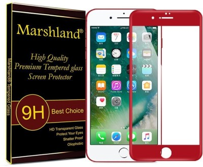 Marshland Tempered Glass Guard for Apple iPhone 7 Plus(Pack of 1)