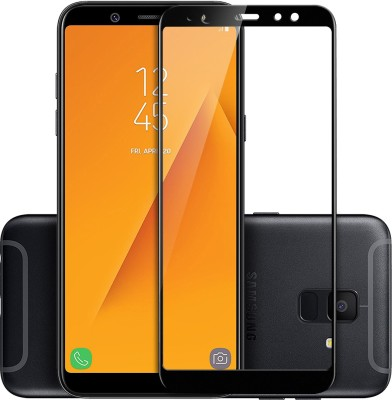 Flipkart SmartBuy Edge To Edge Tempered Glass for Samsung Galaxy A6 Plus(Pack of 1)