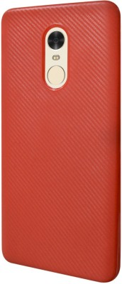 COVERNEW Back Cover for Mi Redmi Note 4 Red