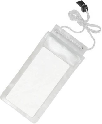 SAFESEED Pouch for Mobile Waterproof Pouch for All Smartphones(White, Waterproof, Flexible Case)