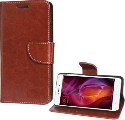 Fresca Flip Cover for Mi Redmi Note 4 Attractive Brown