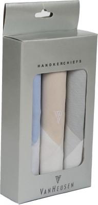 Van Heusen Mens Cotton Hanky Handkerchief(Pack of 3)