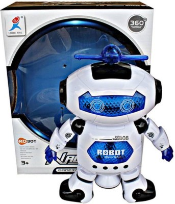 Prro Singing Dancing Naughty Robot with Lights rsx-006(Multicolor)