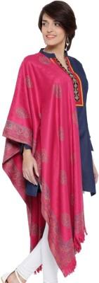 Weavers Villa Pashmina, Wool, Cashmere Woven Women's Shawl(Pink)