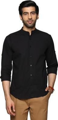 Billion PerfectFit Men's Solid Casual Black Shirt