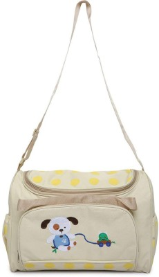 Offspring Multi Utility Nursery Shoulder Diaper Bag(Beige)