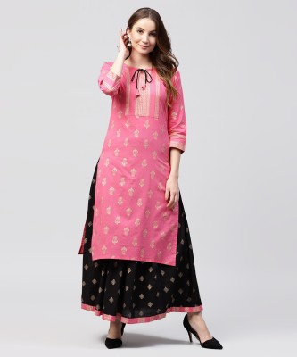 3bf7a6dd1af4 Nayo Women Kurta and Skirt Set Lowest Price in Online