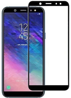 Dukaandaar Tempered Glass Guard for Samsung Galaxy A6 Plus(Pack of 4)