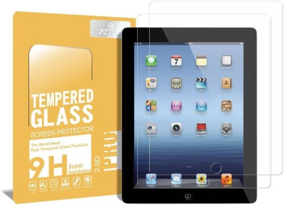 Bibossi Tempered Glass Guard for Apple iPad 4 [9.7 Inch](Pack of 2)