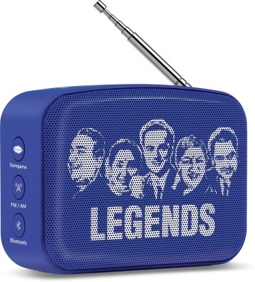 Saregama Carvaan Mini SCM02 3 W Bluetooth Speaker(Regal Blue, Stereo Channel)