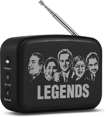 Saregama Carvaan Mini SCM02 3 W Bluetooth Speaker(Moonlight Black, Stereo Channel)