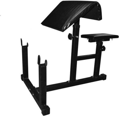 SPIRO Preacher Curl Arm Bench (Foldable) Multipurpose Fitness Bench