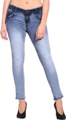 Fourgee Skinny Women Light Blue Jeans