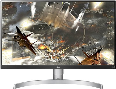 LG 27 inch 4K Ultra HD Monitor (27UK650) at flipkart