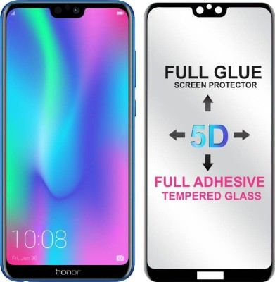 Micvir Edge To Edge Tempered Glass for Honor 9N(Pack of 1)