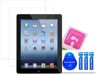 Bibossi Tempered Glass Guard for Apple iPad 2 / Apple iPad 3 / Apple iPad 4 [9.7 Inch](Pack of 2)