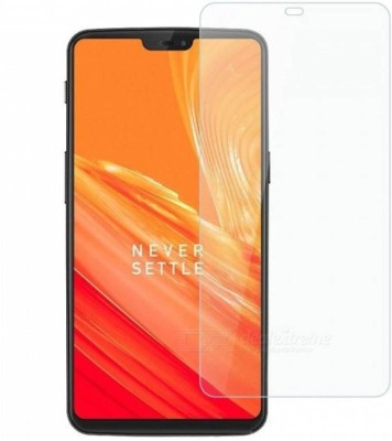 Express Buy Tempered Glass Guard for OnePlus 6(Pack of 1)