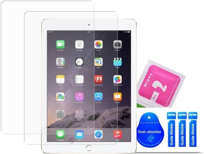 Bibossi Tempered Glass Guard for Apple iPad (6th Gen) [9.7 Inch](Pack of 2)