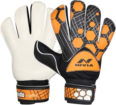 Nivia Torrido GG 893 Goal Keeping Gloves Goalkeeping Gloves Orange, Black, White
