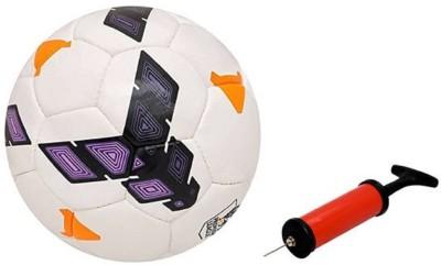 ALEN Strike Purple Football + Air Pump Football   Size: 5 Pack of 2, Multicolor ALEN Footballs