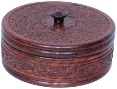 india wooden handi craft chapati box brown Serve Casserole 500 ml india wooden handi craft Casseroles