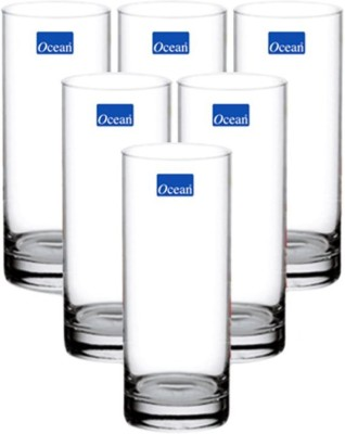 Ocean New York Glass Set(Glass, 340, Clear, Pack of 6)