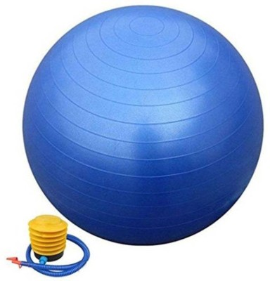 Mezire Leather Store Mp 75 cm Gym Ball Multicolor  Gym Ball With Pump
