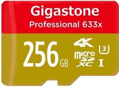 Gigastone 256GB SD Class 10 Memory Card (90MB/s)
